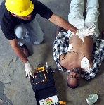 HeartSaver AED training